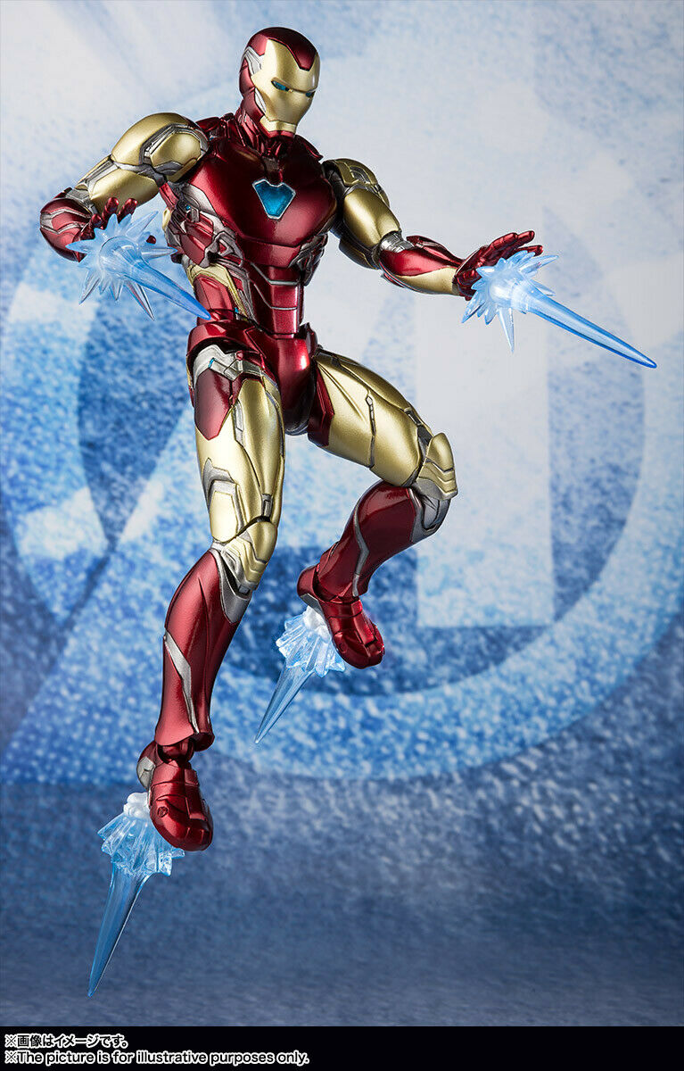 Bandai S H Figuarts Iron Man Mark 85 (Avengers / End Game) Japan version