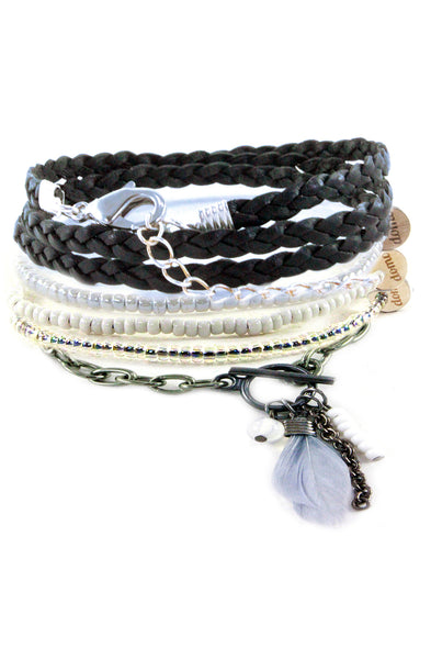 Ladies Feather Bracelets