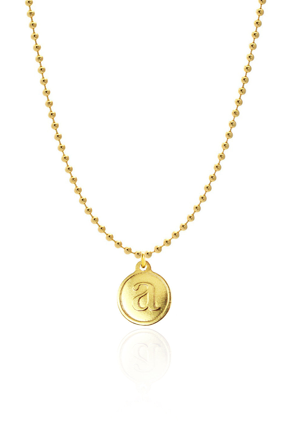 Me, Myself, and I\' Necklace | Gold - Domo Beads