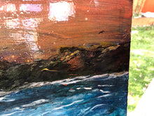Seascape on large canvas