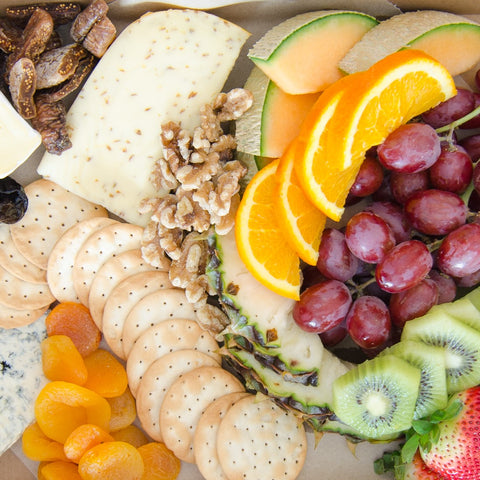 Cheese & fruit platter | BBQ At Your Place Sydney BBQ Catering, Party, Wedding, Birthday, Kids, Event & Fundraising BBQ Catering