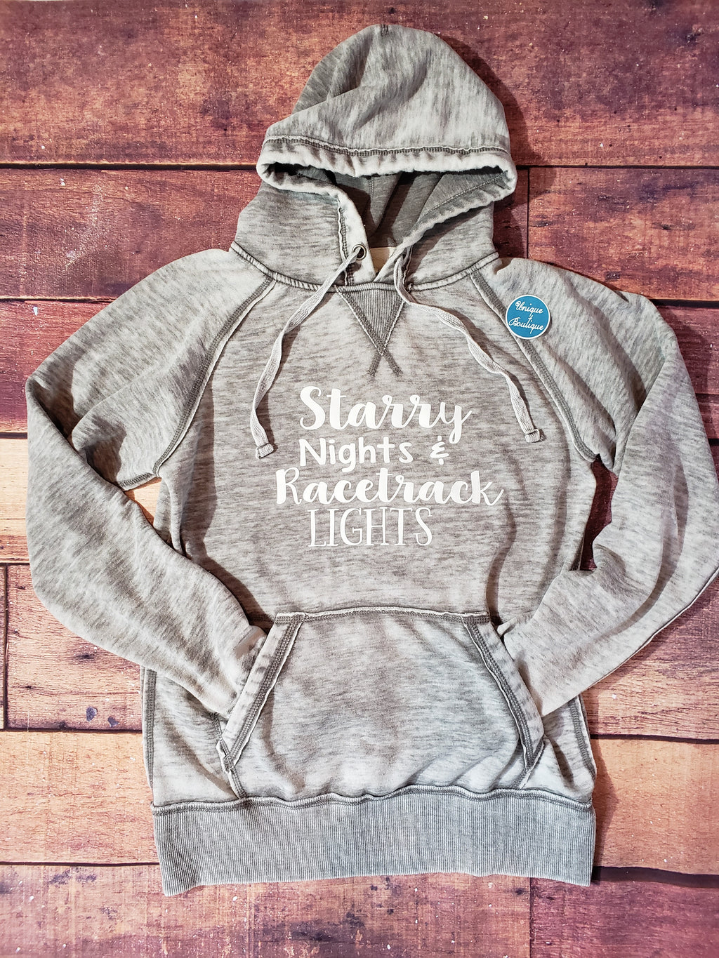 Starry Nights and Racetrack Lights Hoodie