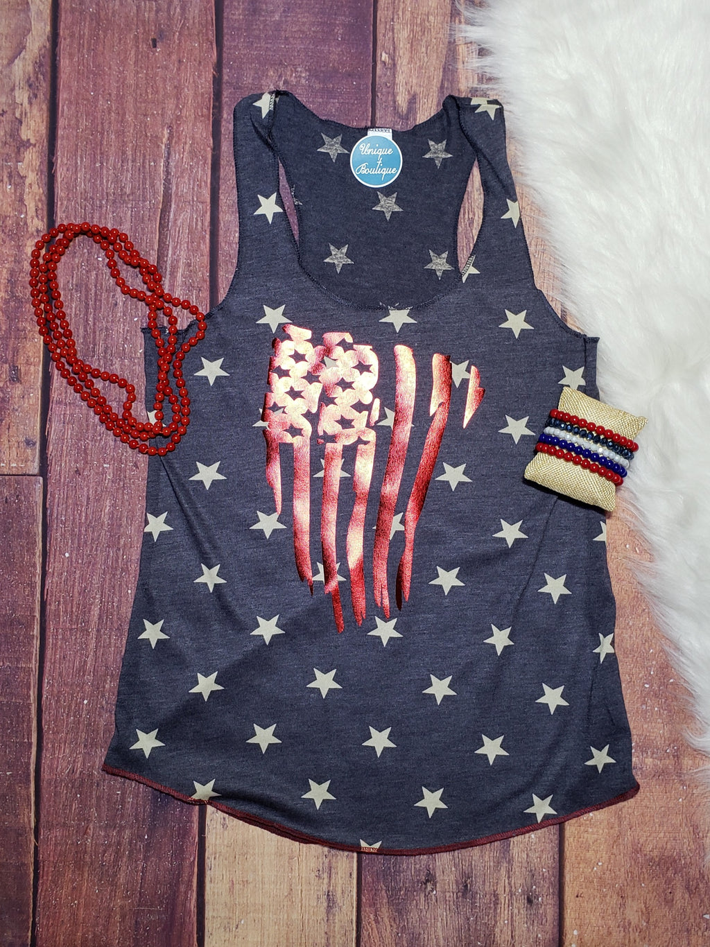 Stars And Stripes Navy Tank