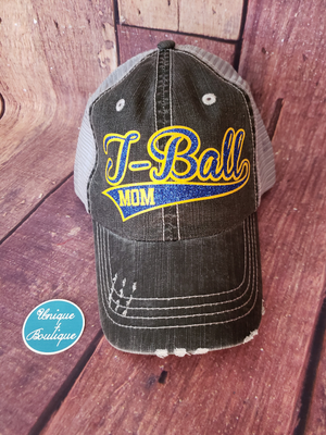 T-Ball Mom Trucker Hat - More Color Options