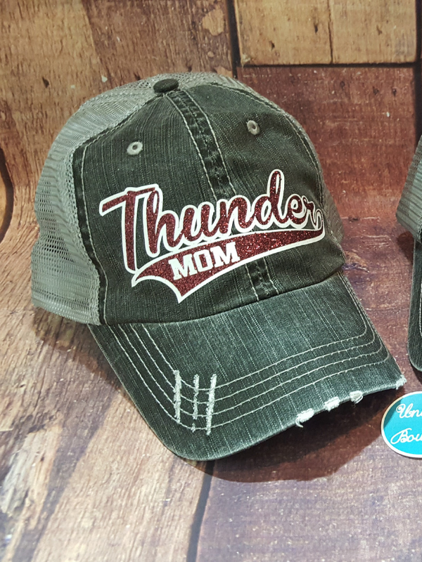 Thunder Mom Trucker Hat