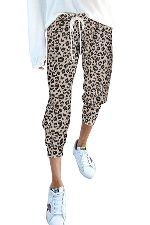 Leopard Spotted Joggers