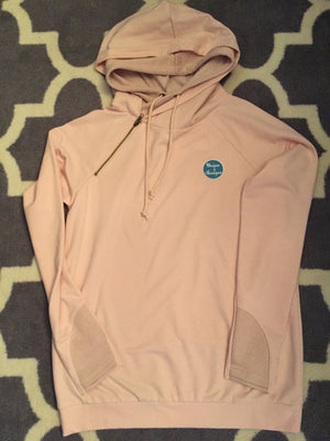Double Hoodie in Blush