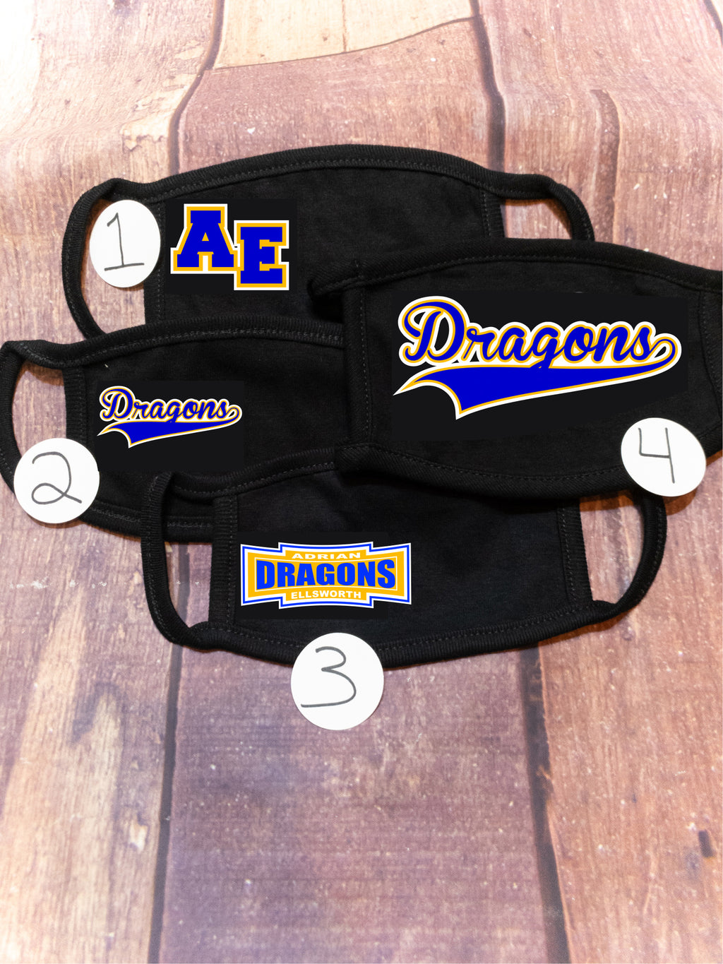 Dragons Adrian Ellsworth Mask Options