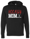 Hockey Mom Hooded Sweatshirt - Matte Or Sparkle