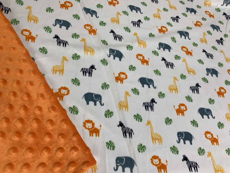 Safari Animals Small Blanket