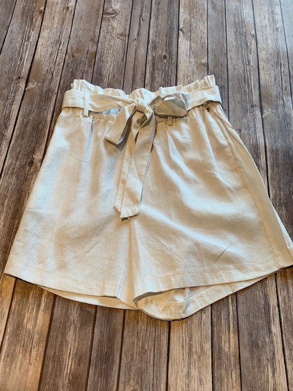 Linen Ivory Shorts SO COMFORTABLE!