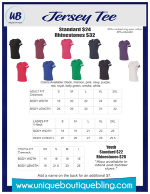 Football Jersey Tee - More Options