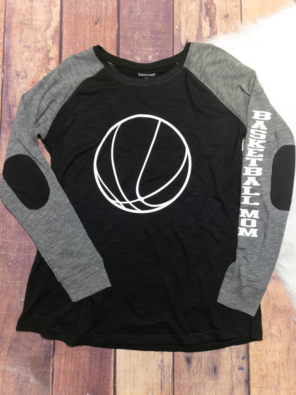 Basketball Mom Patch Long Sleeve - More Options