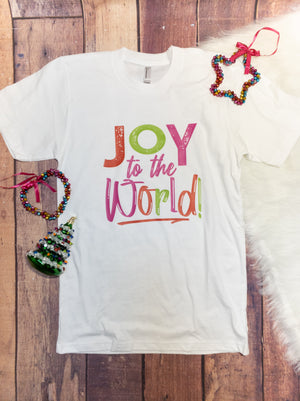 Joy To The World Graphic Tee