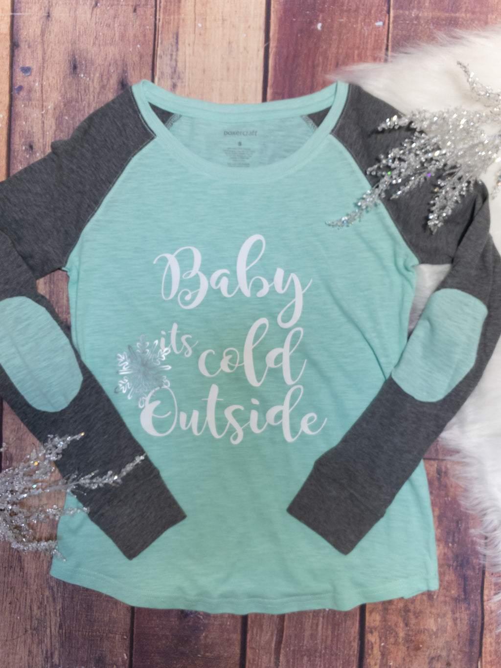 Baby It's Cold Outside Patch Long Sleeve