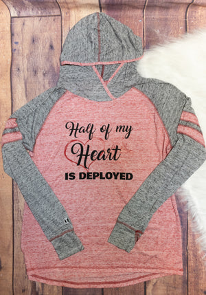 Half Of My Heart Is Deployed Advocate Shirt