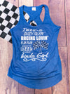 Race Lovin Kinda Girl Tank