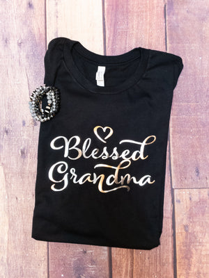 Blessed Grandma Graphic Tee