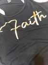 Faith Black Tank