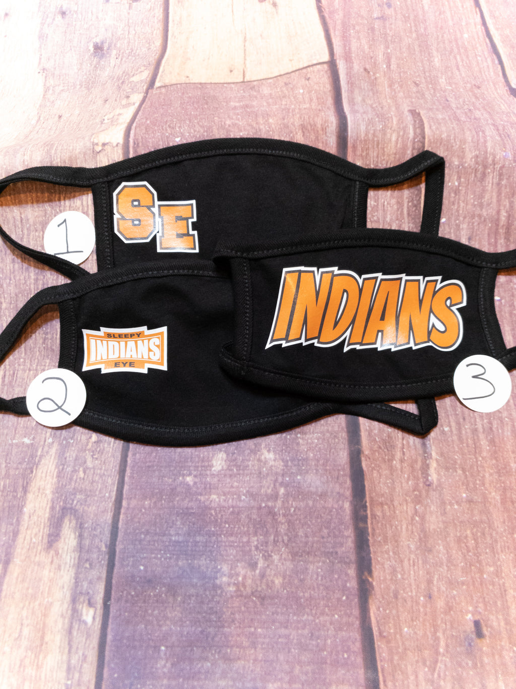 Indians Sleepy Eye Mask Options