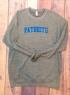 Patriots Althletic Crewneck Sweatshirt