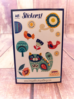 Artistic Nature Stickers