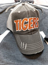 Tigers Orange Sparkle Trucker Hat
