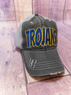 Trojans Blue Sparkle Trucker Hat