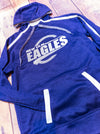 Eagles New Ulm Purple Tonal Hoodie