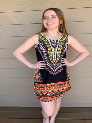 Tribal Tank Sundress