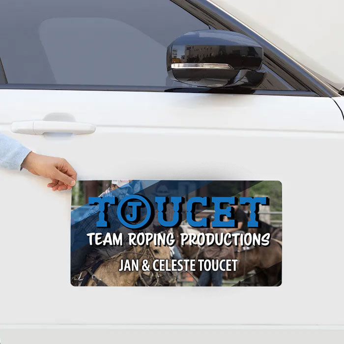 Print | Car Door Magnets | 12 x 24