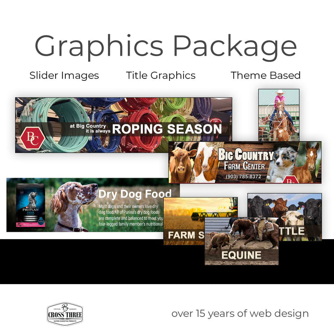 Website Graphics Package