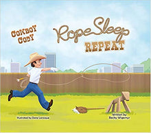 Load image into Gallery viewer, Cowkids | Cowboy Cody Rope Sleep Repeat