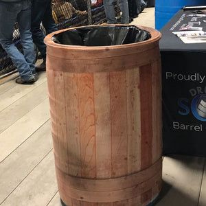 Barrel Cover | Custom Garbage Can | Single Cover