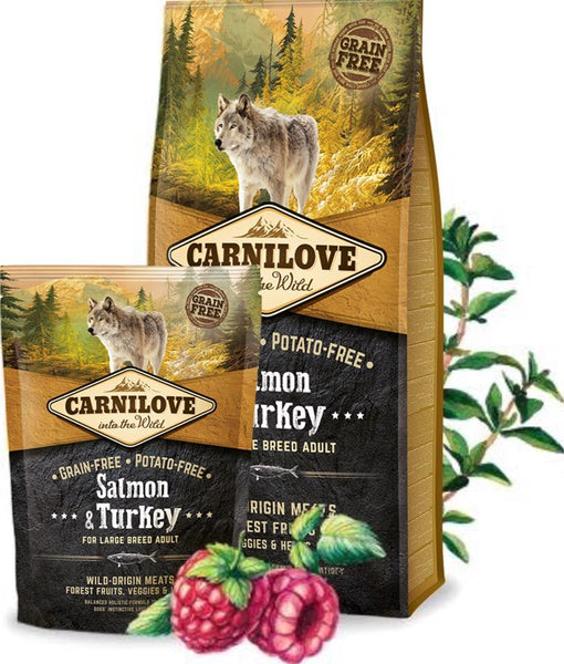 CARNILOVE Adult Large Breed Saumon et Dinde