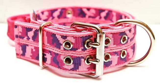 Collier Extreme CAMOUFLAGE Pink
