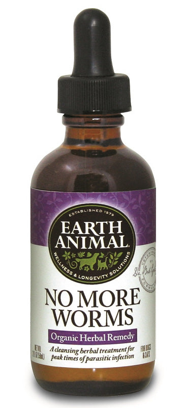 EARTH ANIMAL NO MORE WORMS Protection Antiparasitaire