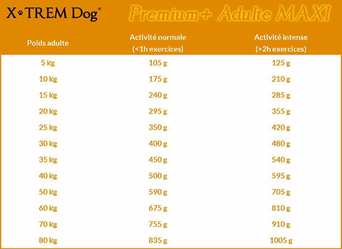 X-TREM Dog PREMIUM+ Adulte MAXI