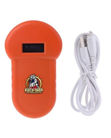 Bully-Shop.com Pet Scan Pocket Lecteur de puce électronique Orange