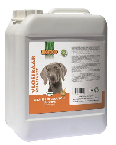 BIOFOOD Graisse De Mouton Liquide 5L Bully-Shop