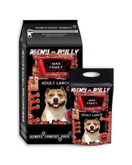 Bully-Shop.com MENU BULLY ADULTE LARGE - Dinde, Croquettes Sans Céréales MAX FAMILY EXCELLENCE PET FOOD GRAIN FREE