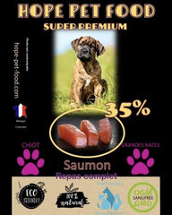 Bully-Shop.com HOPE PET FOOD chiot SUPER PREMIUM Saumon