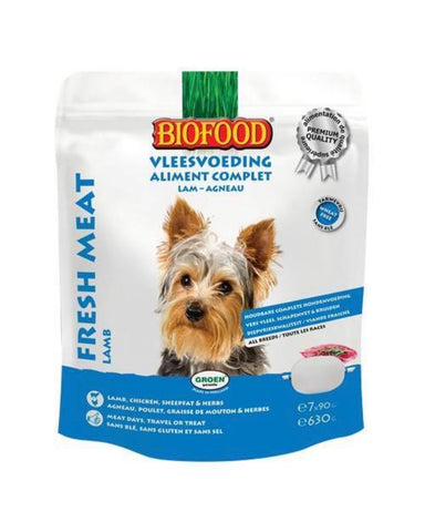 Biofood Chien Aliment Complet Agneau 7x90g