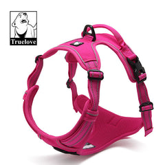 Bully-Shop.com harnais Fuchsia truelove country réfléchissant anti-traction