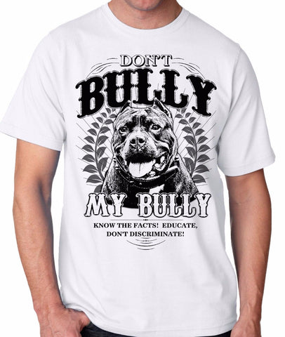 """MY BULLY"" T-shirt 100% Coton"