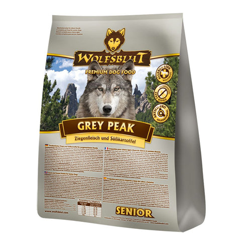 WOLFSBLUT GREY PEAK - SENIOR CHÈVRE ET PATATE DOUCE