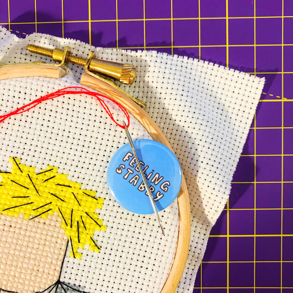 Feeling Stabby Magnetic Needle Minder