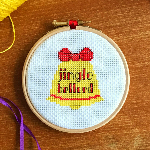 Jingle Bellend cross stitch kit
