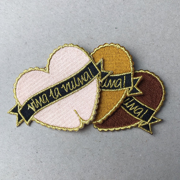 Viva La Vulva fabric patch