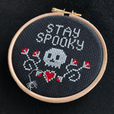 Stay Spooky cross stitch kit